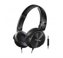 """אוזניות בסגנון DJ עם רמקול 32 מ""""מ ומיקרופון SHL3065"""
