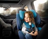 כסא בטיחות מסתובב Zero.1 עם מנגנון בקרת התקנה
