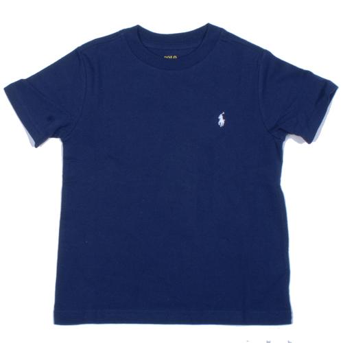 Ralph Lauren / ראלף לורן חולצת טריקו כחולה - סמל לבן