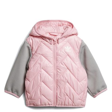Adidas תינוקות// Jacketlight Pink Grey