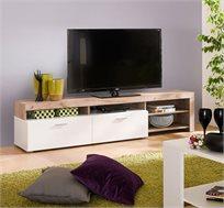 שידת טלוויזיה בעיצוב אלגנטי בקווים ישרים דגם FLORIDA