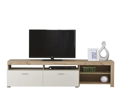 מזנון טלויזיה מיוחד לסלון בעיצוב מודרני בעל שפע מקום אחסון מבית SIRS  - תמונה 2