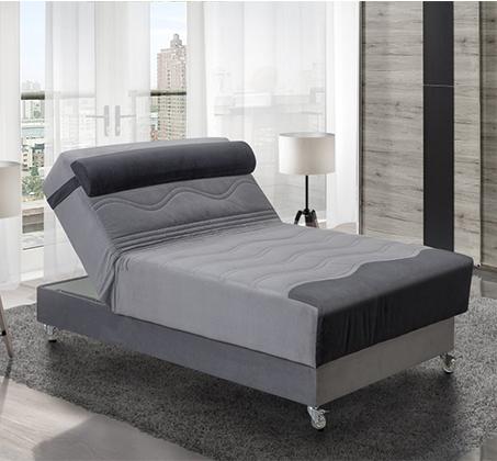 מיטה וחצי אורטופדית דגם סיגל במגוון צבעים לבחירה