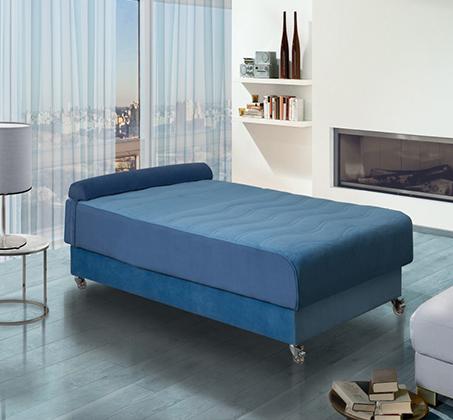 מיטה וחצי אורתופדית 12 מצבים מעוצבת בעלת בד יוקרתי במיוחד דגם סיגל LEONARDO  - תמונה 3