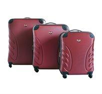 סט מזוודות קשיחות ב-3 גדלים שונים SWISS