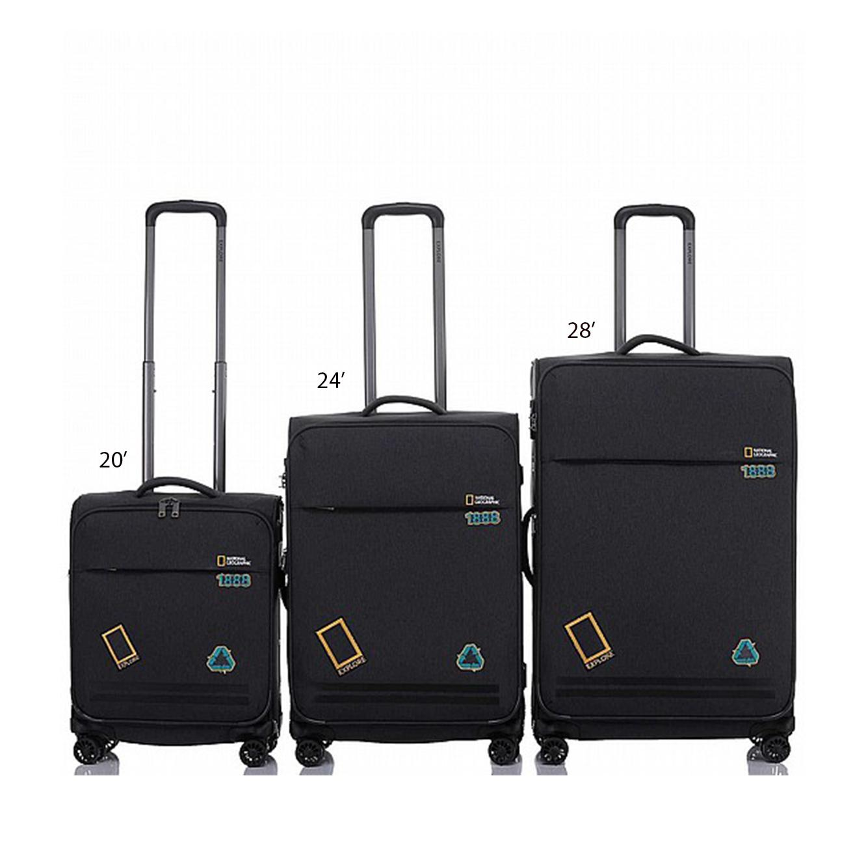 """מזוודה דגם """"BADGES NGO-12 28 צבע לבחירה"""