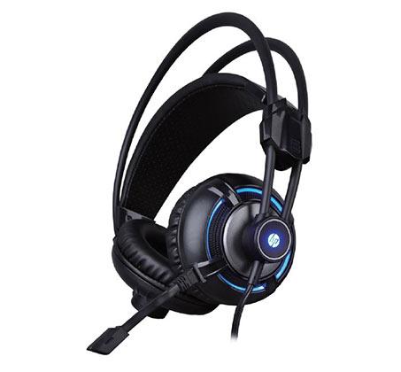 אוזניות גיימינג 4D מקצועיות עם רטט ותאורה דגם HP-H300