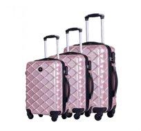 סט מזוודות 3 גדלים ROSSINI בשני צבעים לבחירה