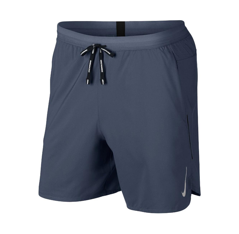 מכנסי ריצה קצרים לגברים - כחול
