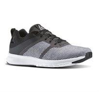 נעלי ספורט לגברים REEBOK PRINT LITE בצבעי שחור לבן + שלישיית גרבי ריבוק מתנה