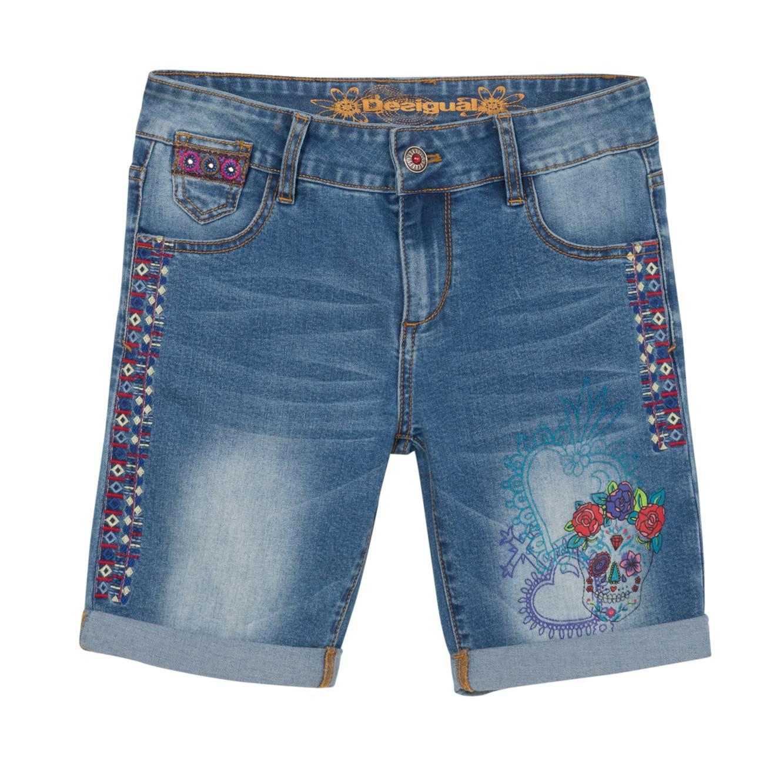 ג'ינס קצר CATRINA לנשים - כחול
