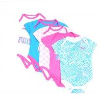 Puma / פומה חמישיית בגדי גוף - ורוד כחול (9-0 חודשים)