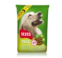 """מזון לכלבים בונזו 20 ק""""ג"""