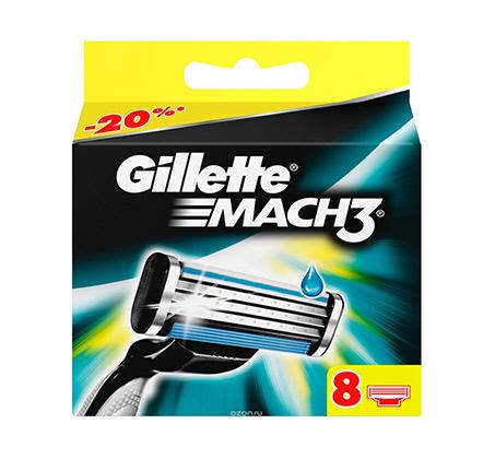 8 סכיני גילוח Mach 3