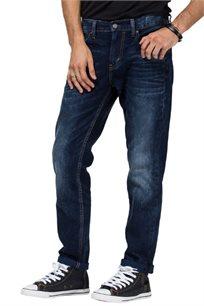 ג'ינס בגיזרה נמוכה לגברים דגם 511-1792 בצבע כחול כהה