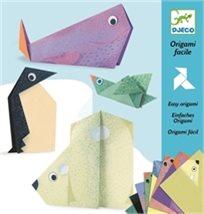 יצירה אוריגמי - חיות קוטב - Djeco