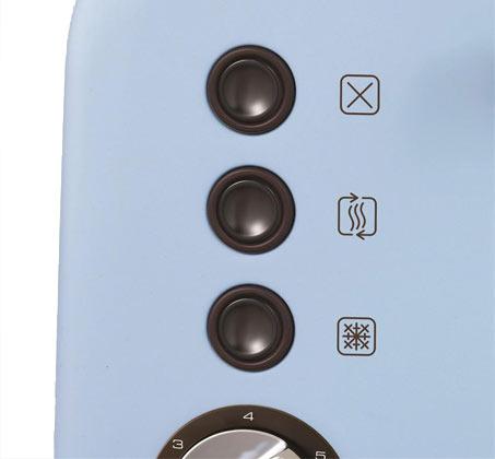 מצנם 2 פרוסות Morphy Richards כולל מנגנון השחמה אלקטרוני דגם 222003T מתצוגה - תמונה 4