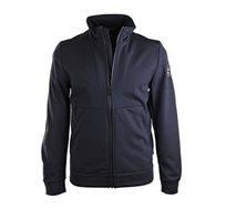 מעיל פליז איכותי דגם N0YGO0176 לגברים בצבע כחול כהה
