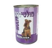 12 קופסאות שימורים לכלב 'מולטי דוג' בטעם כבד במרקם חתיכות