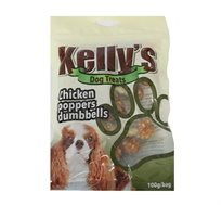 חטיף לכלב kelly's משקולת בטעם עוף