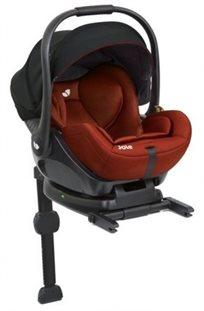סלקל לתינוק עם מצבי שכיבה I-Level ובסיס איזופיקס באדום Lychee