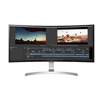 """מסך מחשב """"34 מקצועי Ultra Wide ברזולוציית QHD מיוחד לגיימינג  LG דגם 34UC99-W"""