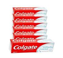 """6 מארזים של משחת שיניים  100 מ""""ל - colgate whitening   - משלוח חינם!"""