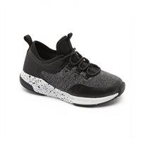 Keds - נעלי סניקרס לילדים עם כתמי צבע שחוראפור