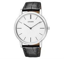 שעון יד אלגנטי לגבר CITIZEN עשוי פלדת אל חלד וזכוכית ספיר קריסטל עמידה בפני שריטות - משלוח חינם!
