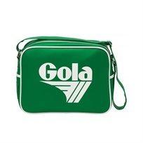 Gola - תיק צד ספורטיבי אופנתי בצבע ירוקלבן