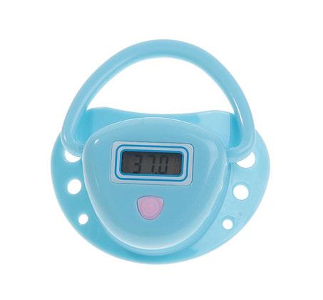 מדחום משולב במוצץ לתינוק המאפשר מדידת חום מהירה ומדויקת בנוחות מרבית - משלוח חינם - תמונה 2