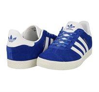 נעלי אדידס GAZELLE BB2501 אוריגינל לנשים ונוער - כחול/לבן