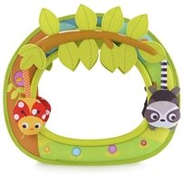 מראה אחורית לצפיה בתינוק Swing עם נדנדת חיות משעשעת