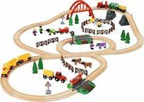 סט רכבת הכפר 79 חלקים