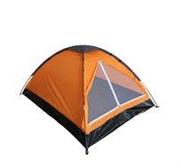 אוהל BASIC המתאים ל-6 אנשים בעל כניסה רחבה הכוללת רשת נגד יתושים CAMPTOWN  - משלוח חינם