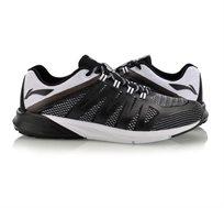 נעלי ריצה לגברים Li Ning Cushion Stability בצבעי שחור/לבן