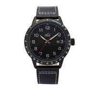 שעון יד אנלוגי לגבר ADI - שחור