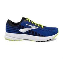 נעלי ריצה BROOKS LAUNCH 6 לגברים - כחול שחור וצהוב