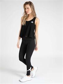 KAPPA נשים // טייץ לוגו שחור