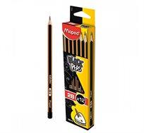 12 עפרונות אורטופדיים MAPED