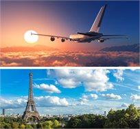 טיסה הלוך חזור לפריז רק בכ-$414*
