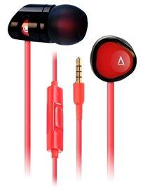 אוזניות ארגונומיות למוזיקה ושיחות Creative MA350 Red-Black
