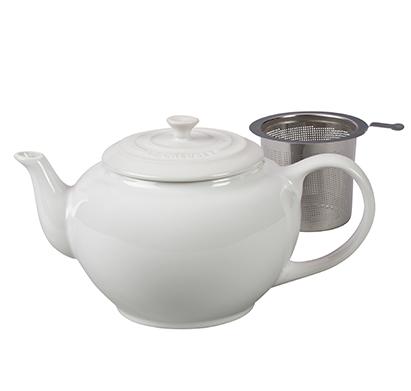 קומקום לחליטת תה כולל מסנן 1 ליטר עשוי מקרמיקה LE CREUSET - משלוח חינם - תמונה 2