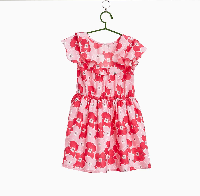 שמלת OVS מלמלה פרחונית