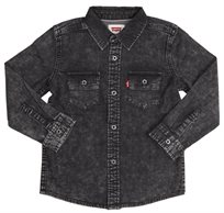 LEVI'S ילדים // modern westren shirt black