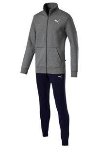חליפת ספורט רב עונתית יוניסקס PUMA Style Good Sweat Suit Cl בצבע אפור