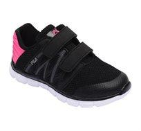 נעלי ספורט לילדים FILA דגם Picaso בצבעי שחור וורוד פוקסיה