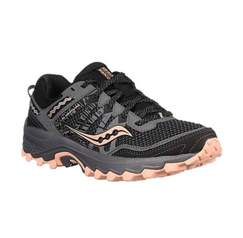 נעלי ריצה לנשים - שחור כתום