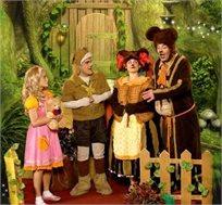 """כרטיסים להצגה """"זהבה ושלושת הדובים"""" בפסטיבל 'אגדה על הגג' בחול המועד פסח"""