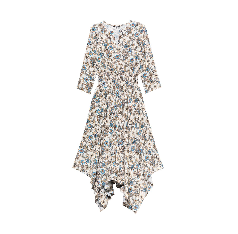 שמלה Boho Desigual לנשים צבעונית